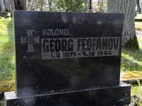 Georg Feofanovi kalmul, Pärnu Vanal Kalmistul. Foto: Urmas Saard / Külauudised