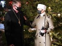 President Kersti Kaljulaid ja peapiiskop Urmas Viilma. Foto: Marge Tasur