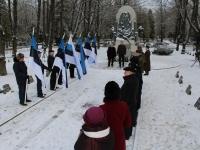 005 3. jaanuar Pärnus Alevi kalmistul. Foto: Lembit Miil
