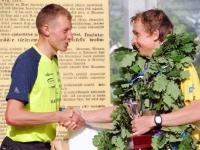 005 5. võidupüha maratoni võitjate autasustamine. Foto: Urmas Saard