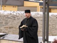 77 aastat Tallinna märtsipommitamisest Siselinna kalmistul. Aleksander Sarapik. Foto: Jukko Nooni