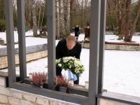 77 aastat Tallinna märtsipommitamisest Siselinna kalmistul. Tiit Terik. Foto: Jukko Nooni