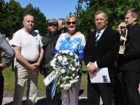 80 aastat juuniküüditamisest, Pärnu Leinapargis. Foto: Urmas Saard / Külauudised