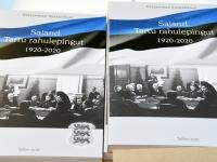 001 Raamat Sajand Tartu rahulepingut 1920-2020. Foto: Urmas Saard