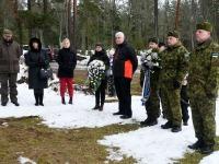 Aleksander Seimani 135. sünniaastapäeval Tõstamaal. Foto: Urmas Saard / Külauudised