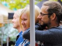 006 Andres Roots ja Anneli Kadakas kontserdiga Steineri aias. Foto: Urmas Saard