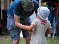012 Andres Roots ja Anneli Kadakas kontserdiga Steineri aias. Foto: Urmas Saard