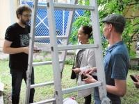 018 Andres Roots ja Anneli Kadakas kontserdiga Steineri aias. Foto: Urmas Saard