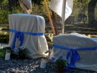 001 Arnold Tikmanni hauatähise taasavamisest. Foto: Urmas Saard
