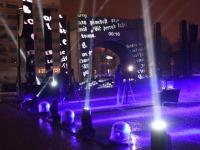 Audiovisuaalsel etendusel Iseseisvuse väljakul. Foto: Urmas Saard / Külauudised