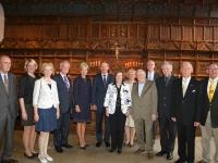 001 Auhinnasaajad 2. septembril koos võõrustajate ja diplomaatidega Münsteri raekoja 17 sajandi kuulsas rahusaalis, kus kunagi lõpetati 30-aastane sõda. Foto: erakogust