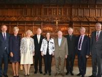 002 Auhinnasaajad 2. septembril koos võõrustajate ja diplomaatidega Münsteri raekoja 17 sajandi kuulsas rahusaalis, kus kunagi lõpetati 30-aastane sõda. Foto: erakogust
