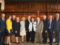 003 Auhinnasaajad 2. septembril koos võõrustajate ja diplomaatidega Münsteri raekoja 17 sajandi kuulsas rahusaalis, kus kunagi lõpetati 30-aastane sõda. Foto: erakogust
