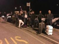 007 Sulmonast lahkumine 15 oktoobril. Umbes kell 01.30. Foto: Karmen Mets