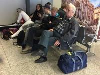 013 Fiumicino lennujaamas tagasisõidul. Foto: Karmen Mets