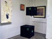 004 Avangard Galerii esimese näituse avamine