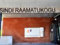 002 Avapäeval Sindi raamatukogu uues hoones. Foto: Urmas Saard / Külauudised