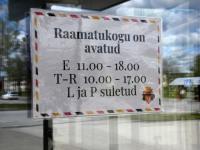 004 Avapäeval Sindi raamatukogu uues hoones. Foto: Urmas Saard / Külauudised
