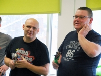 004 Peteris Taurins, Sergeis Matjuskovs,Ugis Viksne. Foto: Urmas Saard
