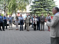 009 Balti keti otsustamise 30. aastapäeval Pärnus. Foto: Urmas Saard