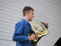 001 Mattias Vihmann, Bright Brassi kontsert Ranna kõlakojas. Foto: Urmas Saard