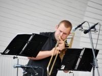 002 Teno Kongi, Bright Brassi kontsert Ranna kõlakojas. Foto: Urmas Saard