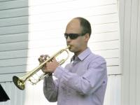 006 Chris Sommer, Bright Brassi kontsert Ranna kõlakojas. Foto: Urmas Saard
