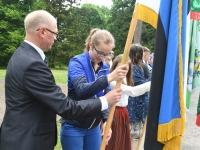 012 Eesti lipu 134. aastapäev Sindis. Foto: Urmas Saard