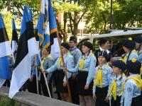 003 Eesti lipu 134. sünnipäev Pärnus. Foto: Urmas Saard