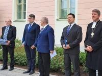 5  Eesti lipu 136. sünnipäeva tähistamine Kuberneri aias. Foto: Marko Šorin