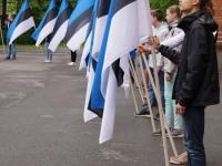 10 Eesti lipu 136. sünnipäeva tähistamine Sindis. Foto: Kelli Tõnisalu