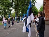 11 Eesti lipu 136. sünnipäeva tähistamine Sindis. Foto: Kelli Tõnisalu