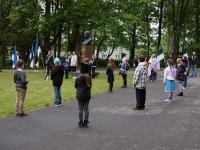 13 Eesti lipu 136. sünnipäeva tähistamine Sindis. Foto: Kelli Tõnisalu