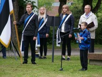 14 Eesti lipu 136. sünnipäeva tähistamine Sindis. Foto: Kelli Tõnisalu