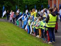 15 Eesti lipu 136. sünnipäeva tähistamine Sindis. Foto: Kelli Tõnisalu