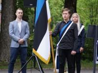 16 Eesti lipu 136. sünnipäeva tähistamine Sindis. Foto: Kelli Tõnisalu