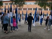 3 Eesti lipu 136. sünnipäeva tähistamine Sindis. Foto: Kelli Tõnisalu