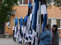 4 Eesti lipu 136. sünnipäeva tähistamine Sindis. Foto: Kelli Tõnisalu
