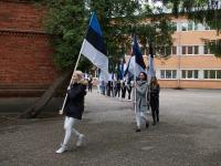 5 Eesti lipu 136. sünnipäeva tähistamine Sindis. Foto: Kelli Tõnisalu