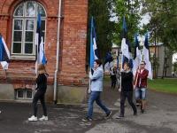 6 Eesti lipu 136. sünnipäeva tähistamine Sindis. Foto: Kelli Tõnisalu