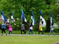 7 Eesti lipu 136. sünnipäeva tähistamine Sindis. Foto: Kelli Tõnisalu