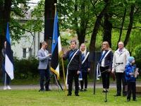 8 Eesti lipu 136. sünnipäeva tähistamine Sindis. Foto: Kelli Tõnisalu