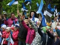 0021Eesti lipu päeva tähistamine Otepääl 2015. aastal. Foto: Monika Otrokova