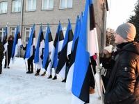 007 Eesti Vabariigi 100. juubeli hommik Sindis. Foto: Urmas Saard