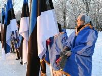 016 Eesti Vabariigi 100. juubeli hommik Sindis. Foto: Urmas Saard