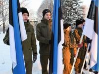 017 Eesti Vabariigi 100. juubeli hommik Sindis. Foto: Urmas Saard