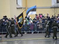 013 Eesti Vabariigi 101. aastapäeva paraad. Foto: Urmas Saard