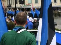 018 Eesti Vabariigi 101. aastapäeva paraad. Foto: Urmas Saard