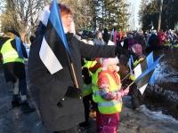 007 Eesti Vabariigi 101. aastapäeva tähistamine Sindis. Foto: Urmas Saard