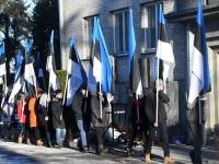 009 Eesti Vabariigi 101. aastapäeva tähistamine Sindis. Foto: Urmas Saard